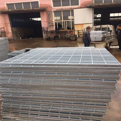 平台钢格板型号 重型钢格板 楼梯踏步板报价