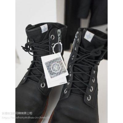宝顺印刷定制精品女鞋吊牌 现货量多东莞厂家直销