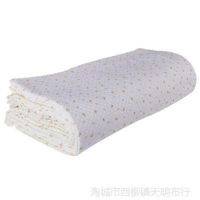 16厂家直销 精梳保暖棉布 空气层宝宝衣服 包被抱毯毛坯布批发