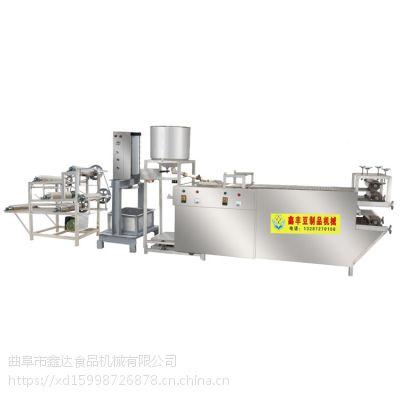 东北专用干豆腐机 全自动干豆腐机厂家 现场技术培训