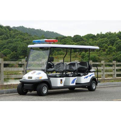 卓越牌8座电动警用巡逻车/A1P8白色价格