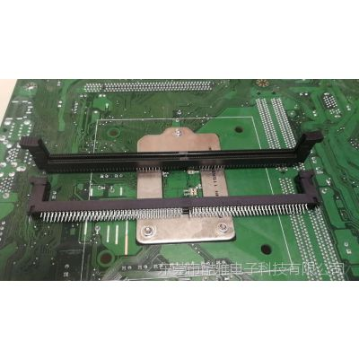 LOTES DDR4插槽 288PIN 4排DIP型主板 工控 内存插槽 现货供应