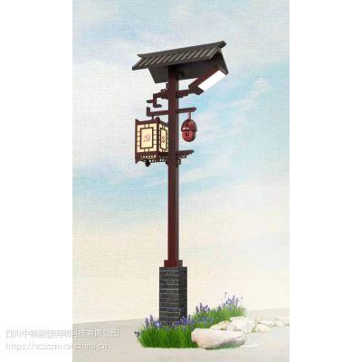 德阳3.5m庭院灯厂家丶什邡庭院监控路灯厂-中晨智慧照明