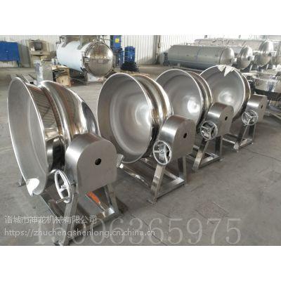 供应电加热导热油式神龙夹层锅节能环保
