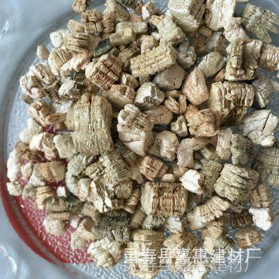 银白大颗粒蛭石 吸水透气宠物垫材 低砂轻质香包白蛭石3-6mm