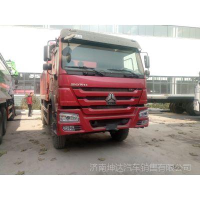 中国重汽商用车豪沃十轮工程车371马力大泵发动机