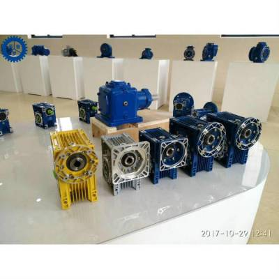 NMRV050-100蜗轮蜗杆微型马达,精密测试仪专用微型减速机,泰兴非标定制齿轮箱