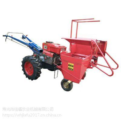 河北专用小型玉米收割机 手扶车带小型玉米收割机 收割玉米机割台