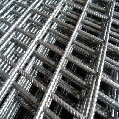 建筑工地桥梁CRB550带肋钢筋网 冷拔钢丝网片
