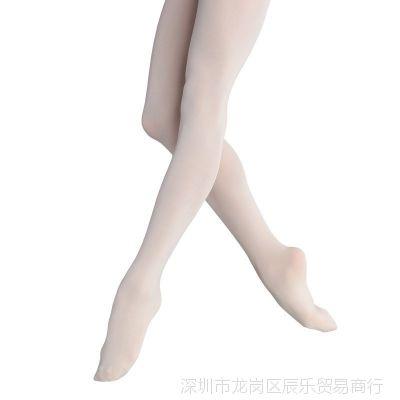 丝袜裤韩版打底芭蕾秋季白色舞蹈薄款小童女孩子裆秋款舞蹈袜黑色