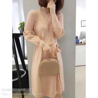 chic 毛衣2018当季新款毛衣品牌折扣女装专柜库存尾货批发
