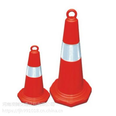路锥橡胶圆锥70cm雪糕筒路障锥交通设施警示安全锥警示柱反光路锥