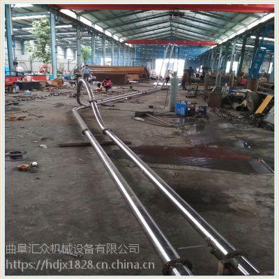 云南管链输送机厂家推荐沙子管链提升机