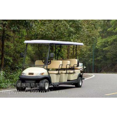 卓越系列高尔夫球车看房游览四轮电动观光旅游车A1S8+3/ 11人座