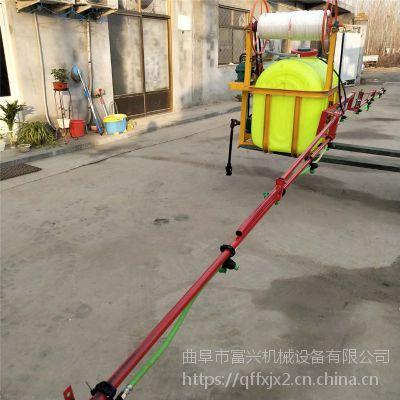 富兴大型果园专用高压打药机 大功率汽油弥雾机价格 远射程汽油弥雾机价格
