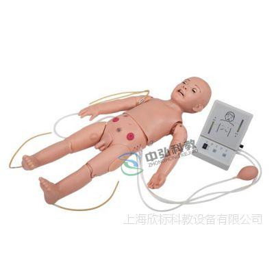 高级全功能一岁儿童护理及CPR训练模拟人、全功能一岁儿童模拟人