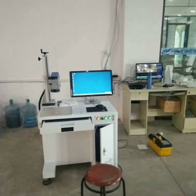 雅安正品低价创鑫/锐科20W30W激光打标机,雅安硬质合金刀具激光刻字机,激光打码机