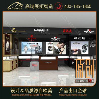 供应南京数码展示柜厂家 罗曼高端展柜 南京手机柜台制作