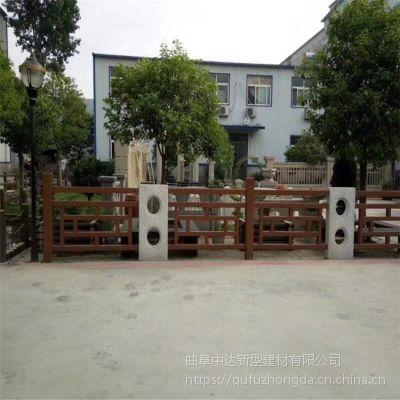 日照厂家水泥仿木景观护栏围栏多少钱一米?