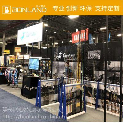 邦览展示上海展会展位专业搭建公司Y-Tv环保快捷搭建展台符合国际空运尺寸