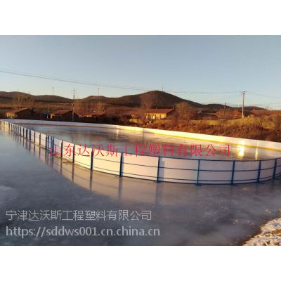 真冰围栏 山东达沃斯工程塑料有限公司图
