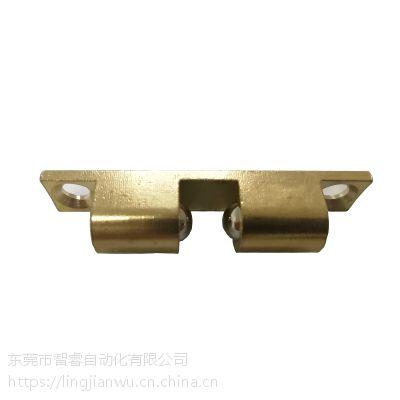 厂家直销外装型碰珠 工业黄铜碰珠设备门碰门吸 黄色碰珠
