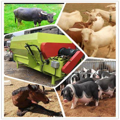 自动喂牛的搅草机 羊场饲料搅拌机 肥料加工搅拌机