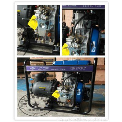 柴油机4寸塑料化工泵