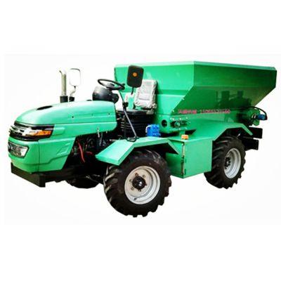 天盛自走式撒肥机 有机肥撒肥车