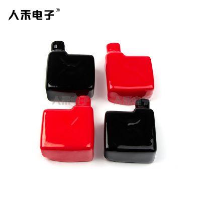 人禾电子PVC供应电瓶端头蓄电池端头正负极绝缘保护帽