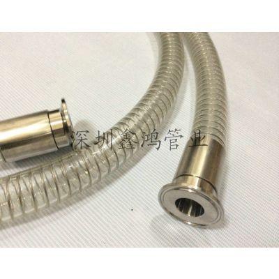 聚氨酯钢丝塑料管 食品酒厂用 无塑化剂标准 透明钢丝管