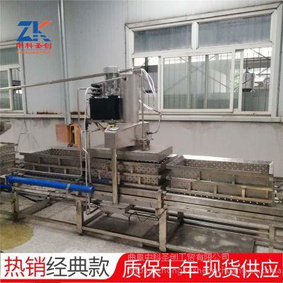 大型干豆腐机生产线 自动上脑液压压制数控一键操作豆腐皮机
