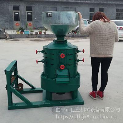 佳鑫JX330型谷子去皮剥壳机 大米碾米机 小米去皮脱壳机生厂厂家