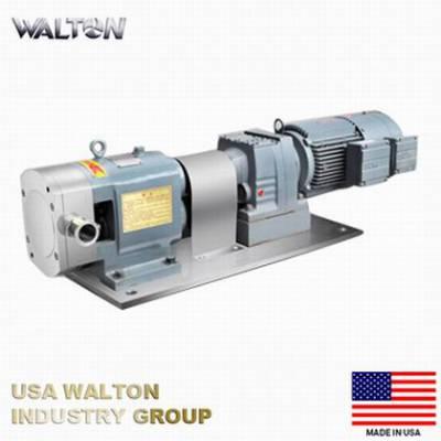 进口卫生级转子泵 不锈钢凸轮转子泵美国WALTON沃尔顿
