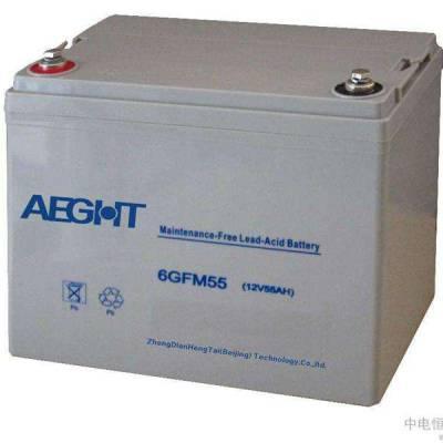 AEGHT冠通6GFM-24/12V24AH铅酸免维护蓄电池淘宝货柜