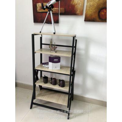 港文新品多用折叠桌 金属翻转旋转桌 折叠置物架欢迎定制