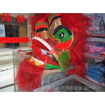 支持定制 民间工艺品 舞狮头舞师道具