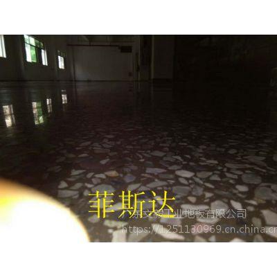 鼎湖坑口厂房地面固化地坪—广利水磨石起灰处理