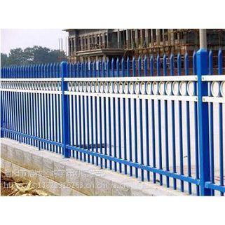 广东省鸿宇筛网施工安全喷塑锌钢护栏规格定制 -280