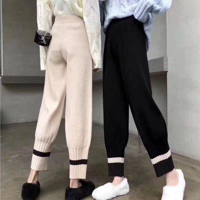 阔腿裤女春夏新款长裤2019宽松大码松紧腰时尚韩版高腰女士休闲裤