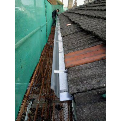 南京K型铝合金水槽屋檐接水器落水系统