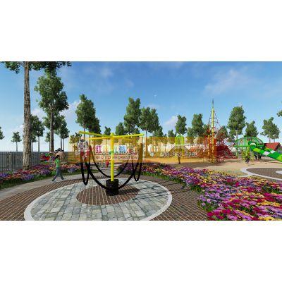 四川户外儿童运动公园整体设计规划 主题公园游乐设备厂家直销