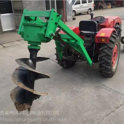栽桩用手提打坑机 挖坑作业用地钻 木棉树种植挖坑机