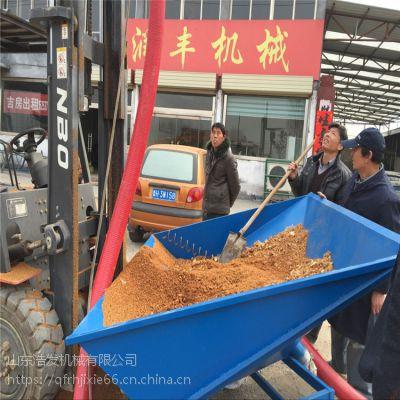 汽油式车载上粮机 吸散水稻的吸粮机