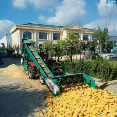 河北大型玉米脱粒机四轮车载玉米脱粒机生产厂家
