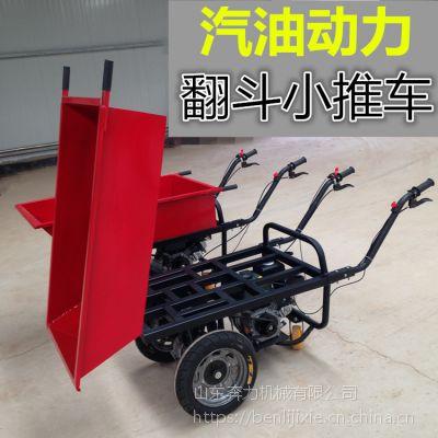 拉砖灰斗推车 工地斗车 小型工程车 奔力SL-K07