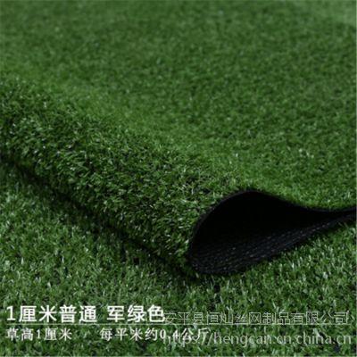 厂家直销南京市政需求1cm草坪网 工地外围绿色草坪围挡网