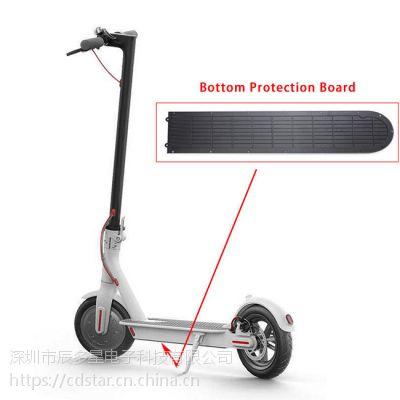 小米滑板车配件电动m365碟刹盘片座器卡钳折叠束套脚撑挡泥板螺丝