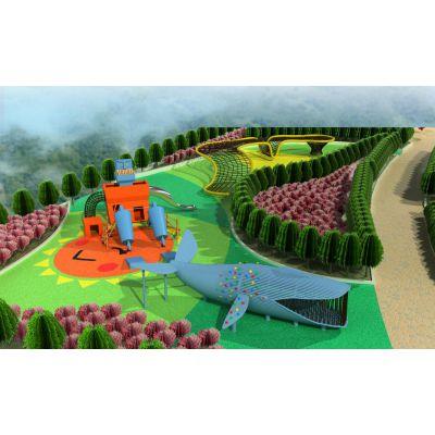 公园多元主题游乐场户外儿童大型体能训练游乐设施