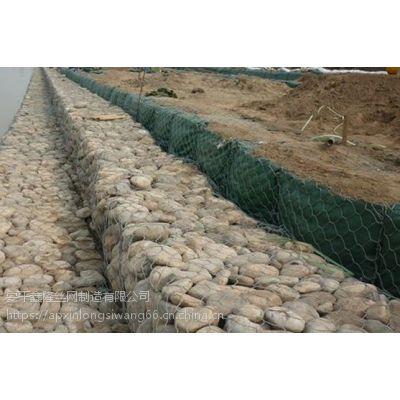 兰州防洪堤修建格宾笼 堤防宾格石笼网施工 包塑格宾石笼厂家